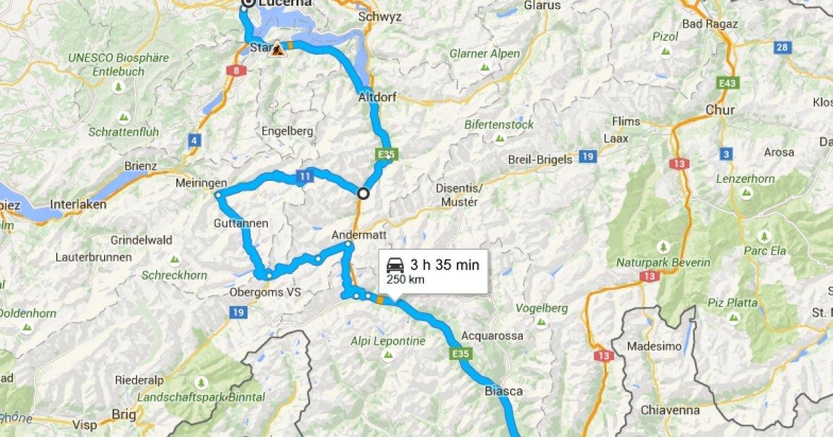 Cartina Italia Google Maps.Il Gottardo Sparisce Da Google Maps Laregione