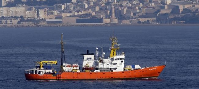 Laregione Gibilterra Ritira La Propria Bandiera Dalla Aquarius