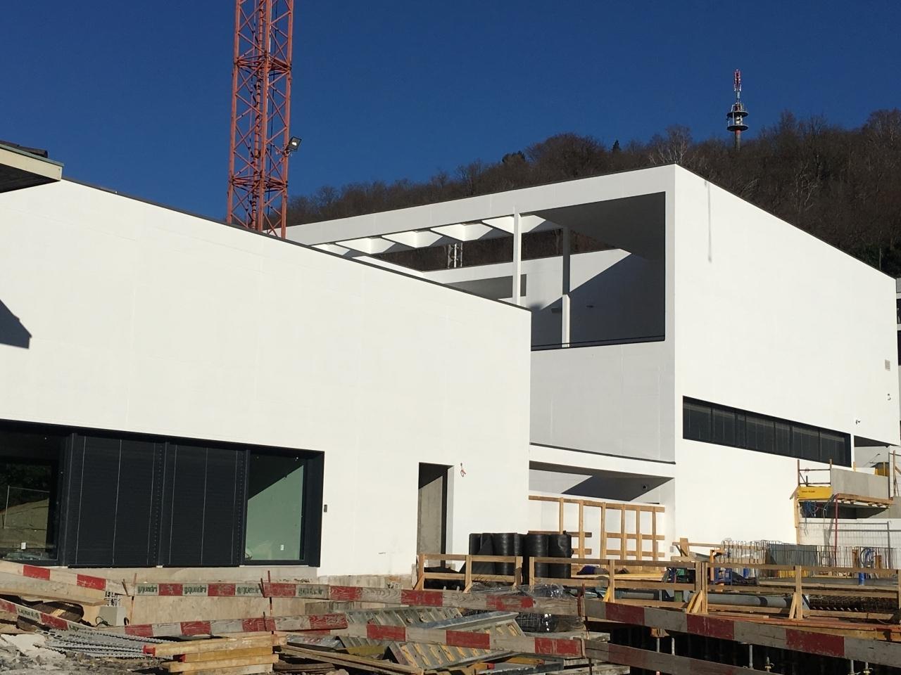 Cadempino pronta la nuova casa comunale laregione for Casa comunale