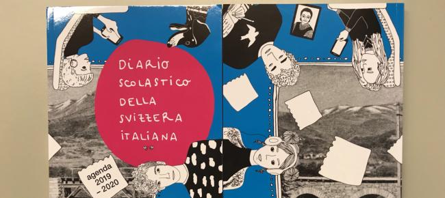 Calendario 2020 Ticino.80 Anni Di Diario Scolastico Laregione