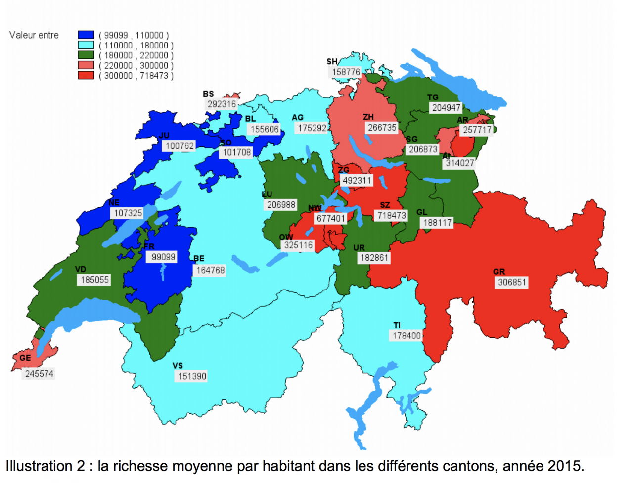 Cartina Della Svizzera Con Cantoni.Alcuni Svizzeri Sempre Piu Ricchi Laregione